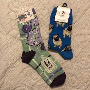 ⭐️ Patterned Crew Sock Bundle ⭐️